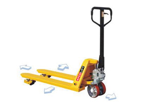 4 - Way Hand Pallet Truck (Side Rollers)