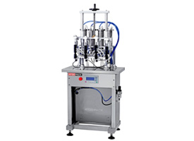 Semi Automatic 4 Head Filling Machine