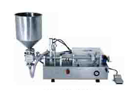 Semi Auto Cosmetics Filling Machines