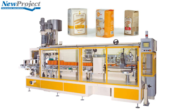 High Capacity Packaging Machine for Preformed PAPER Bags (0.5 – 2kg)