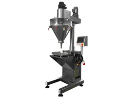 Semi Automatic Auger Filling Machine With Digital Weigher & Servo Motor