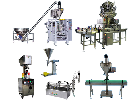 FOOD FILLING PACKAGING MACHINES
